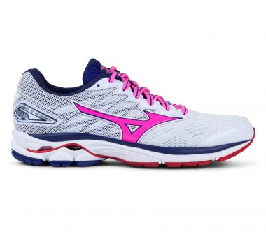 Mizuno - Wave Rider women's running shoes (white/pink)