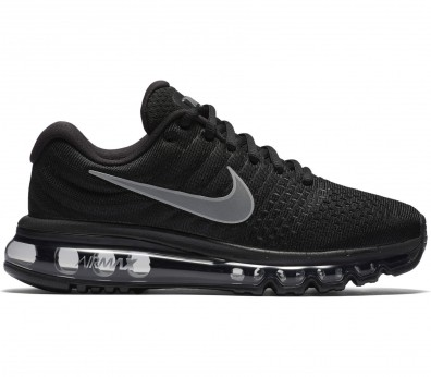Nike - Air Max 2017 women's running shoes (black/white)
