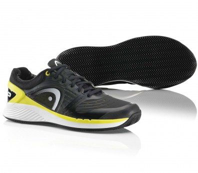 Head - Sprint Pro Clay men's tennis shoes (black/white/yellow)