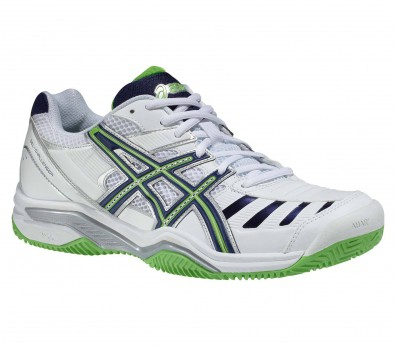 Asics - Gel-Challenger 9 Clay men tennis shoes (white/green)