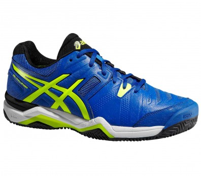 Asics - Gel-Challenger 10 Clay men's tennis shoes (blue/yellow)