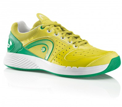 Head - Sprint Team Clay Limited Edition men tennis shoes (yellow/green)