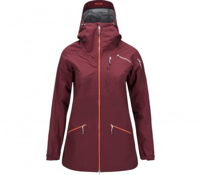 Peak Performance - Radical women's 3 layer ski jacket (red/orange)