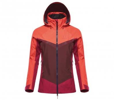 Black Yak - Gore-Tex Pro Shell 3-Lagen women's hard shell jacket (red)
