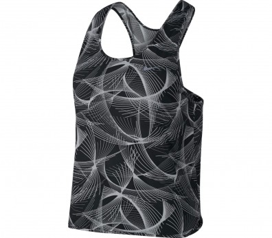 Nike - Dry NK City women's running tank top (black/white)