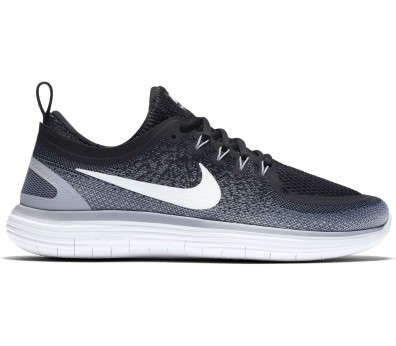Nike - Free RN Distance 2 men's running shoes (black/white)