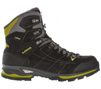 Lowa - Vantage GTX Mid men's hiking shoes (anthracite/yellow)