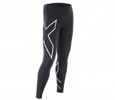 2XU - TR2 Compression women's running pants (black/silver)