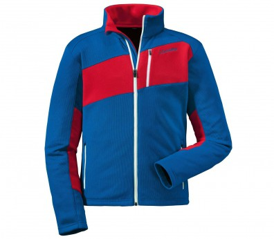 Schöffel - Niklas men's fleece jacket (blue/red)