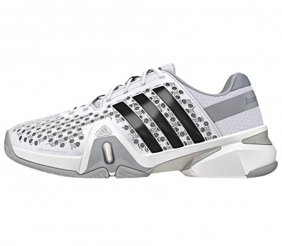 Adidas - Adipower Barricade men's tennis shoe (grey/white)