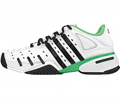 Adidas - Barricade V Classic Synthetic men\'s tennis shoes (white/green)