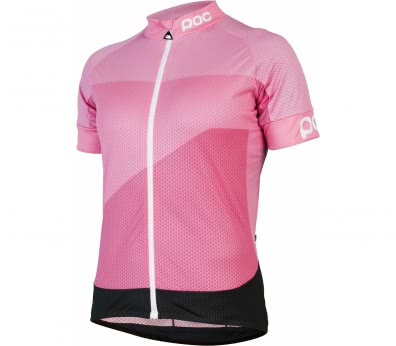 POC - Fondo Gradient WO Light Jersey women's Bike jersey (pink/black)