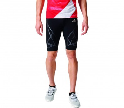 Adidas - Adizero Sprintweb men's running leggings (black/grey)