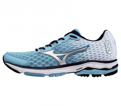 Mizuno - Wave Rider 18 women's running shoe (mint/ silver )