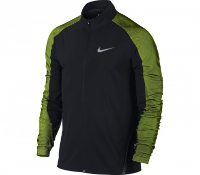 Nike - Stadium men's running jacket (black/light green)