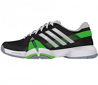 Adidas - Barricade Team 3 men's tennis shoes (black/green)
