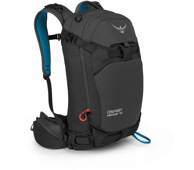 Osprey - Kamber 32 men's touring rucksack (black/blue)