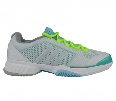 Adidas - aSMC Barricade 2015 Synthetic women's tennis shoes (white/green)