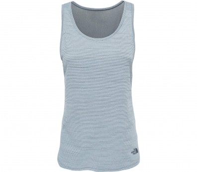 The North Face - Motivation Stripe women's functional tank top top (blue)