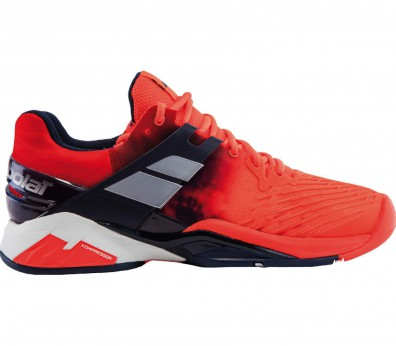 Babolat - Propulse Fury Clay men's tennis shoes (red/black)