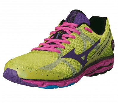 Mizuno - Wave Rider 17 Women´s Running shoes (green/pink)