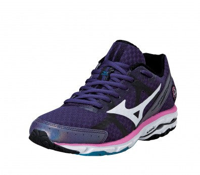 Mizuno - Wave Rider 17 Women's Running Shoes (purple/white)