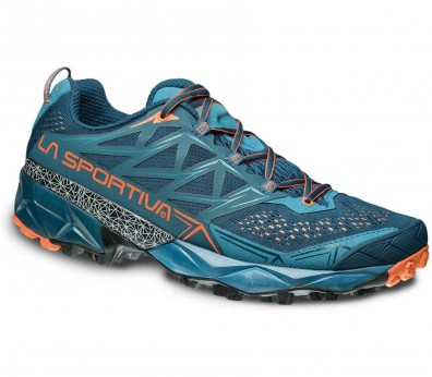 La Sportiva - Akyra women's trail running shoes (blue/orange)