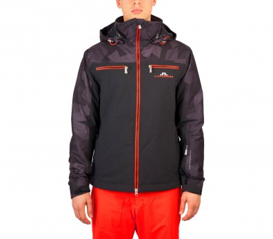 J.Lindeberg - Elias men's ski jacket (black/dark grey)