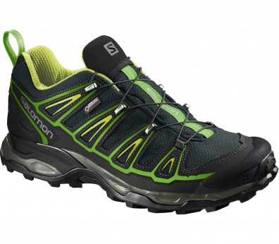 Salomon - X Ultra 2 GTX men's hiking shoes (black/green)
