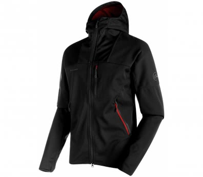 Mammut - Ultimate hoodie men's soft shell jacket (black)