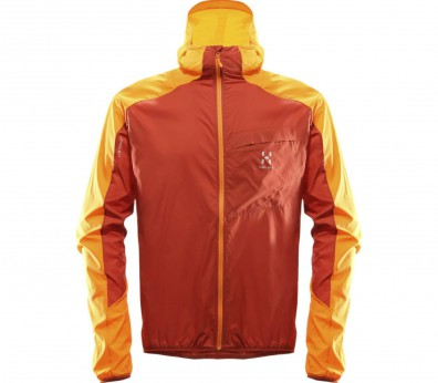 Haglöfs - L.I.M Shield men's windbreaker (orange/red)