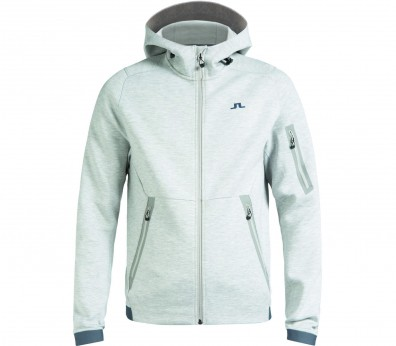 J.Lindeberg - Athletic Tech Sweat men's training hoodie (light grey)