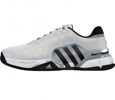 Adidas - Barricade 2015 Clay men's tennis shoes (white/black)
