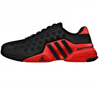 Adidas - Barricade 2015 Synthetic men's tennis shoes (black/red)
