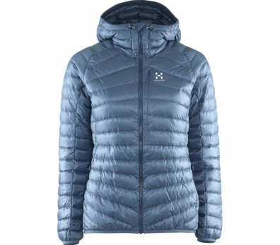 Haglöfs - Essens III Down Hood women's down jacket (blue)