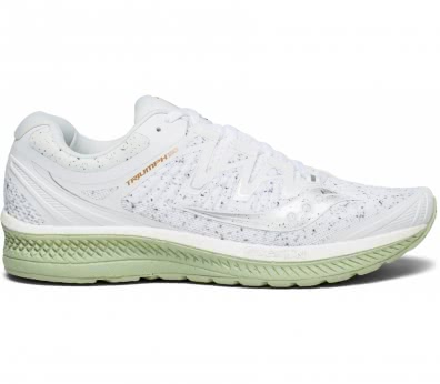 Saucony - Triumph Iso 4 men's running shoes (white/light yellow)