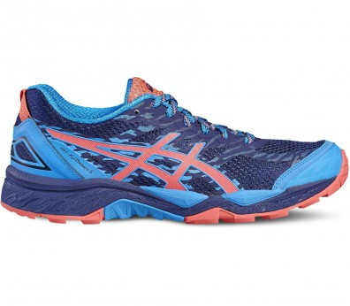 Asics - Gel-FujiTrabuco 5 women's running shoes (blue-red)
