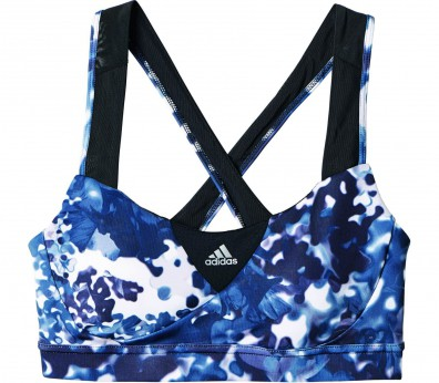 Adidas - Supernova Graphic women's sports bra (black/white)