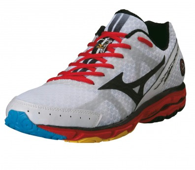 Mizuno - Wave Rider 17 Men´s Running shoes (white/red)