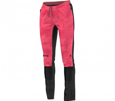 Adidas - Terrex Sky Running women's softshell pants (pink/black)