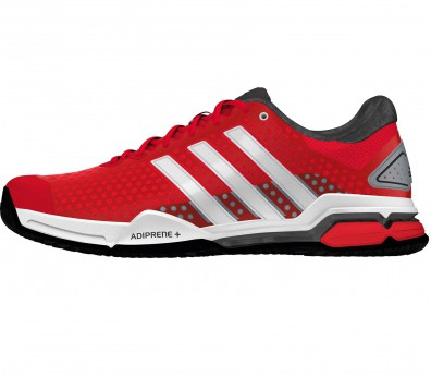 Adidas - Barricade Team 4 Clay men's tennis shoes (red/white)
