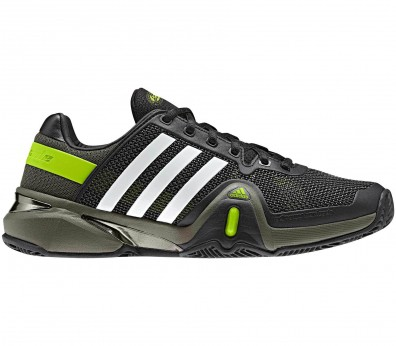 Adidas - Adipower Barricade 8 Clay Synthetic Men´s Tennis shoes (black)