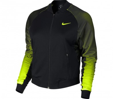 Nike - Court Premier women's tennis jacket (black/light green)