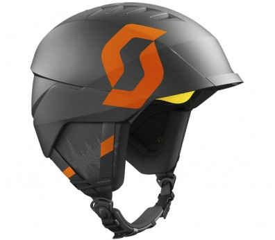 Scott - Symbol ski helmet (grey/orange)