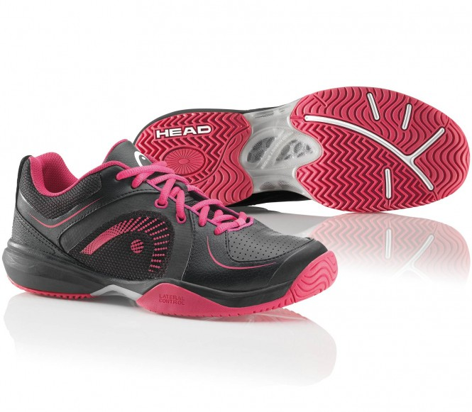 Head - Cruze womends tennis shoes (black/red/white