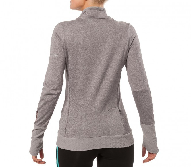 Adidas Climaheat 1 2 Zip Long Sleeve Womens 39 Running