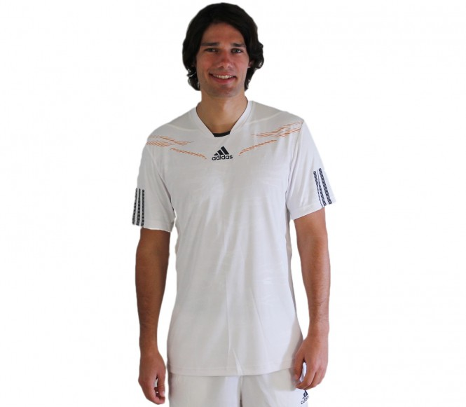 Adidas - Men´s Barricade Crew T-Shirt white - HW12