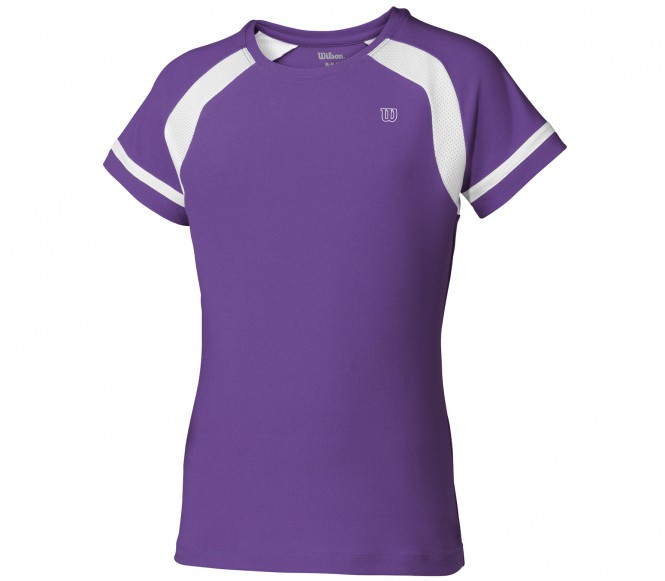 Wilson - Junior Short Sleeve Crew lavender