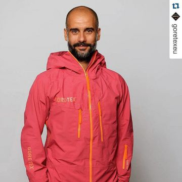 Welcome to the Gore team, Pep! You know what #bestsportsproducts are all about. #Repost @goretexeu #...