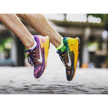 We love these colourful @Nike Lunarglide 7 running shoes for men and women on this rainy day here in...